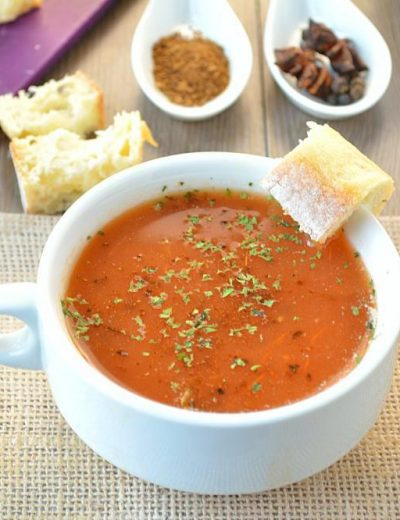 Tamatar ka shorba – Spiced Indian Tomato soup
