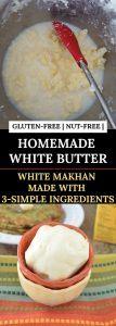Homemade White Butter Pinterest Pin