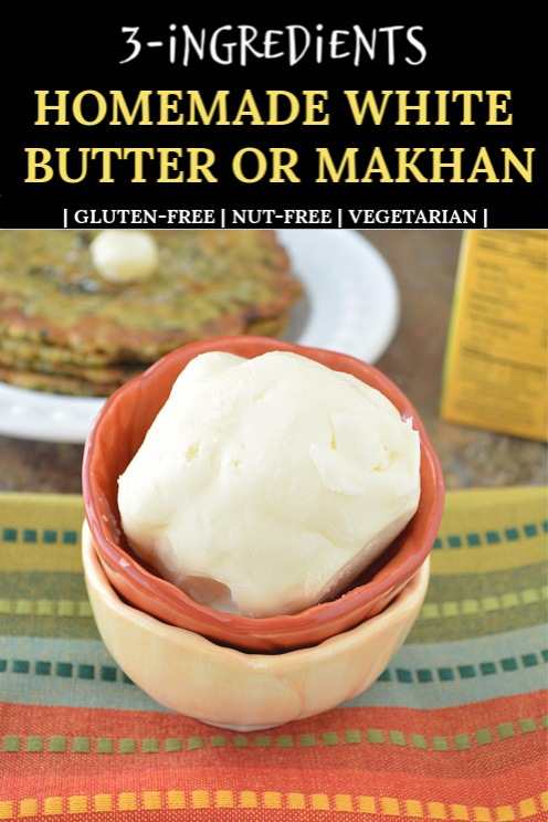 How to make white makhan for Janmashtami