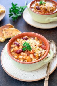 How to make Minestrone soup in slow cooker