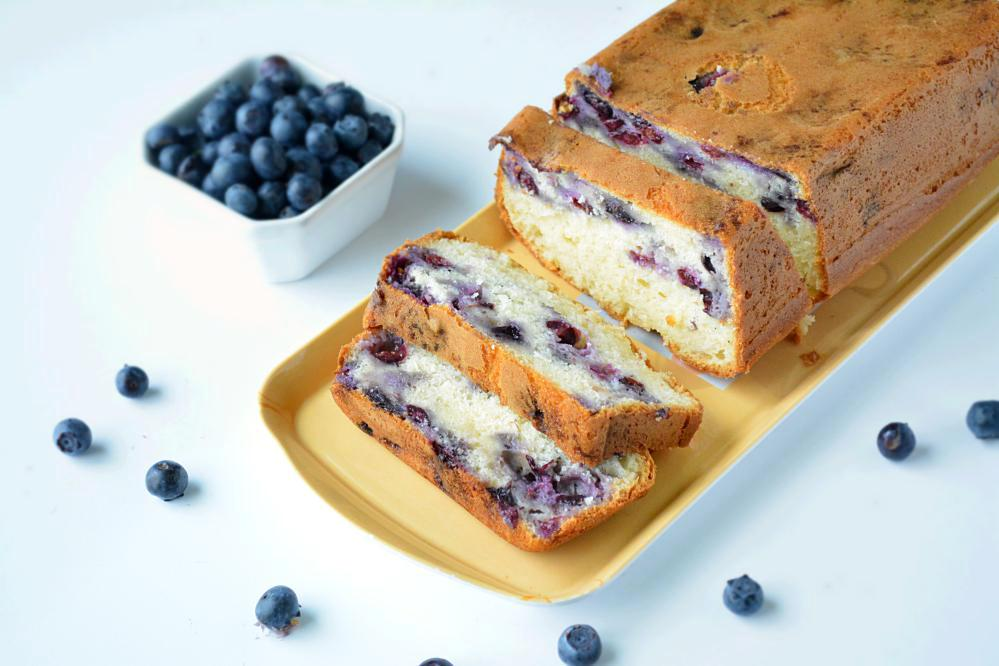 Blueberry White Cake Mix Recipe