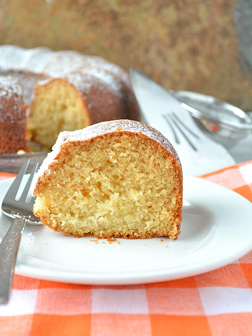 eggless vanilla pound cake how to make eggless vanilla
