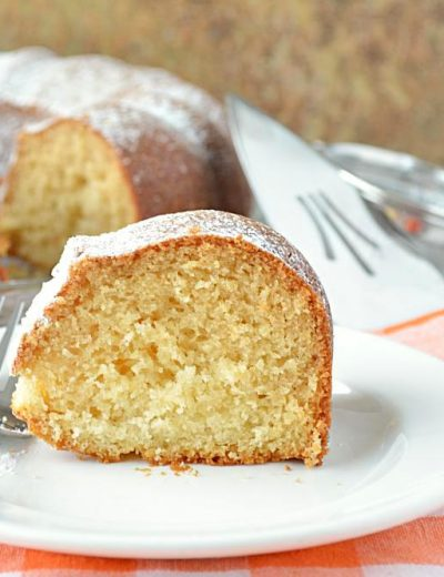 Eggless Vanilla Pound Cake