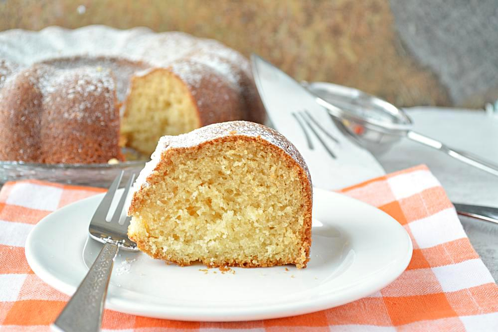 Eggless Vanilla Cake Recipe With Images : Eggless Vanilla Pound Cake, how to make Eggless Vanilla ...