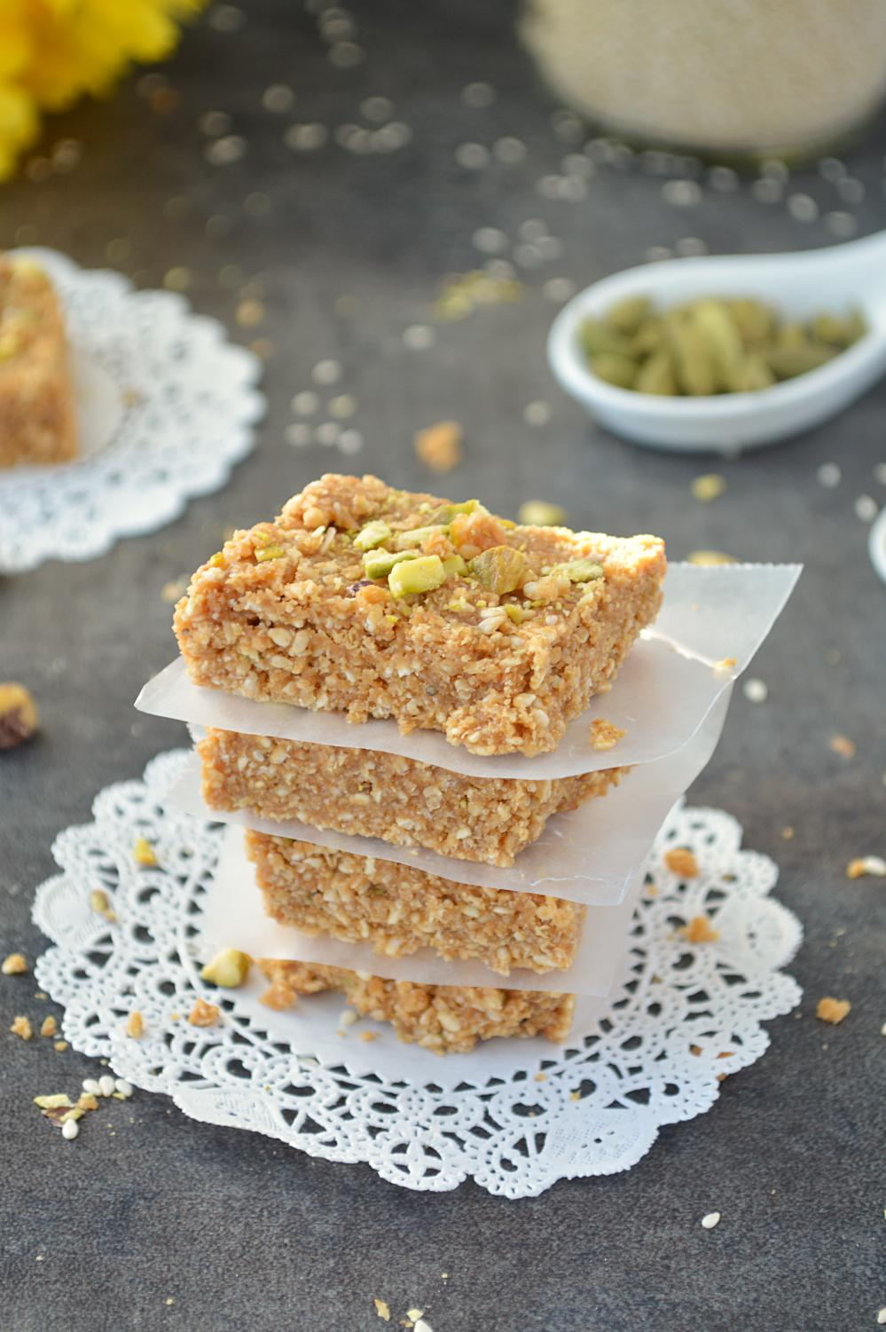 Til and Gur Patti or til chikki recipe