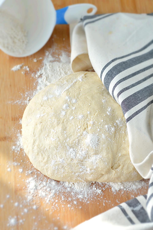 Homemade Whole Wheat Pizza Dough - Ruchiskitchen