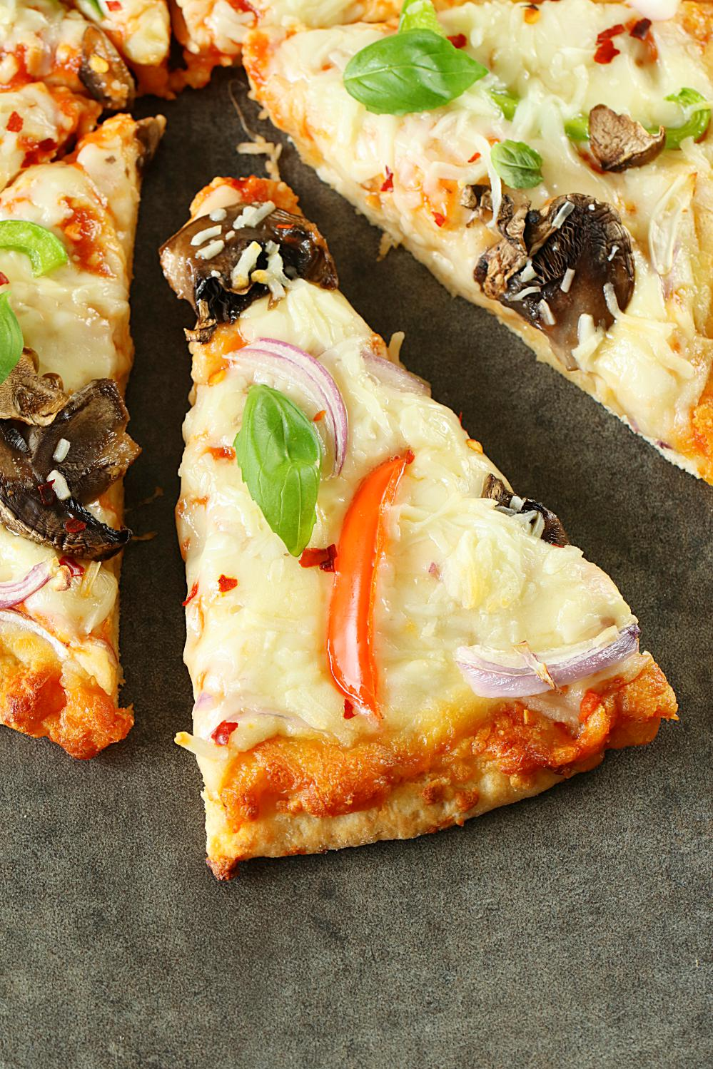 Veggie Pizza Recipe Step By Step Whole Wheta Veggie Pizza