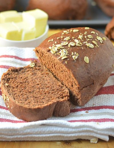 Honey wheat brown bread