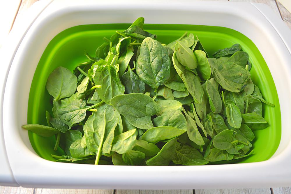 How to Blanch spinach