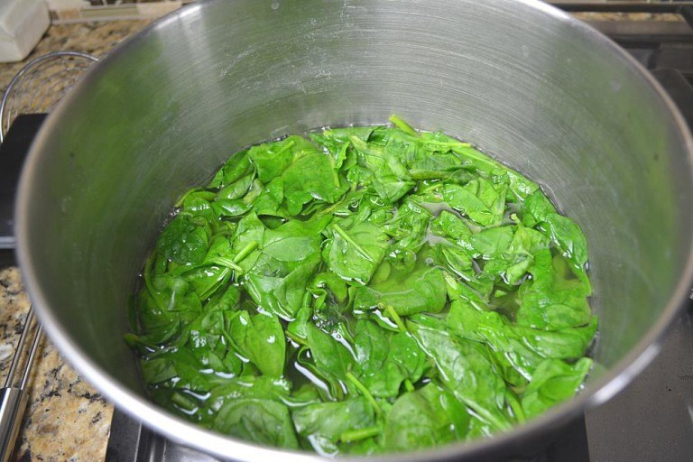 blanching palak 3 768x512 - Winner of  Cooking Competition March 2018