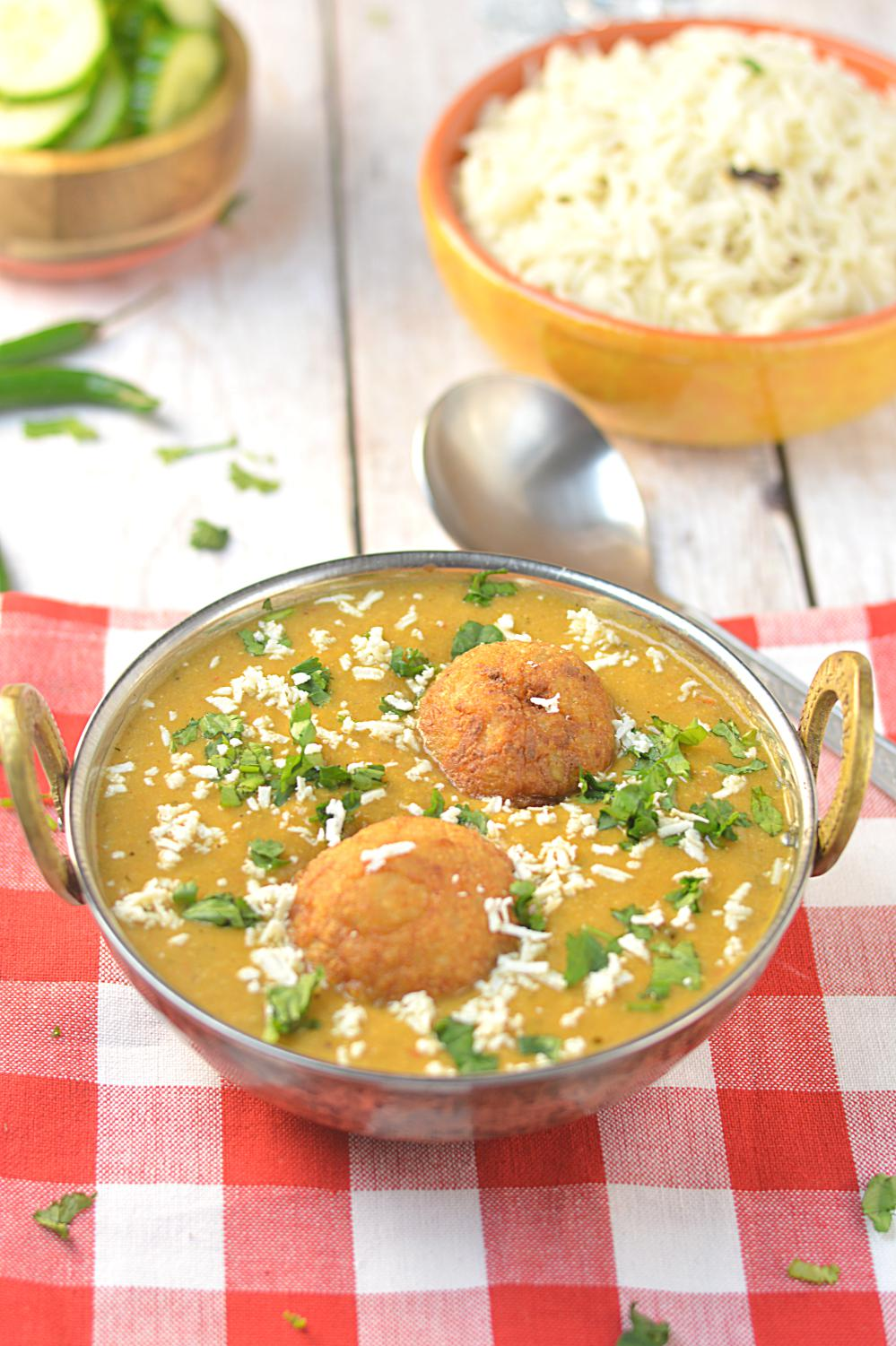 No Onion No Garlic Malai Kofta
