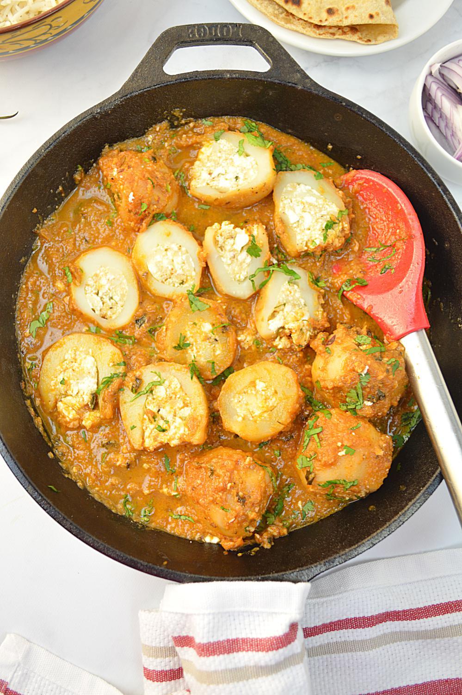 Bharwan Dum aloo Recipe