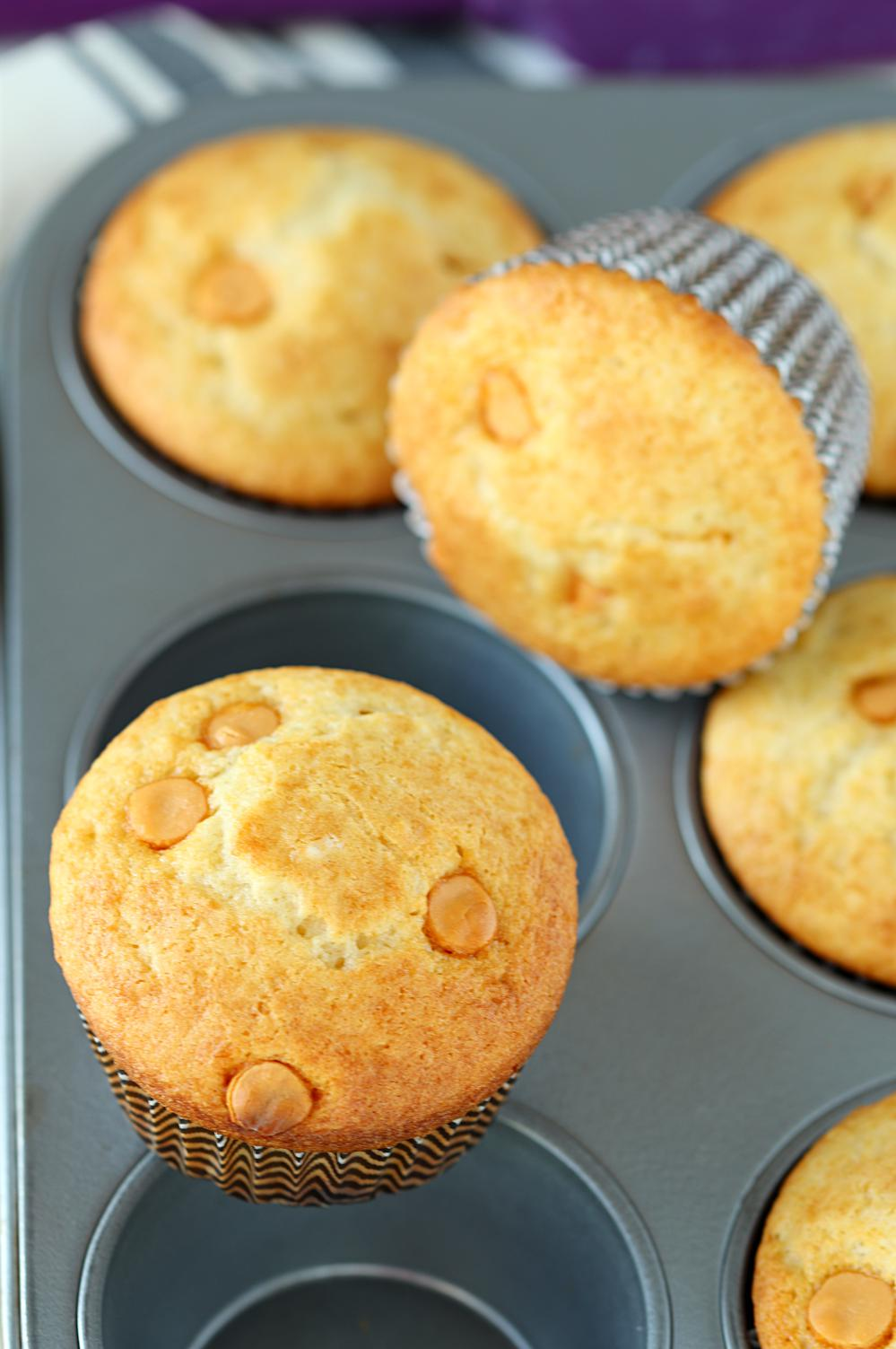 Eggless Butterscotch Cupcakes