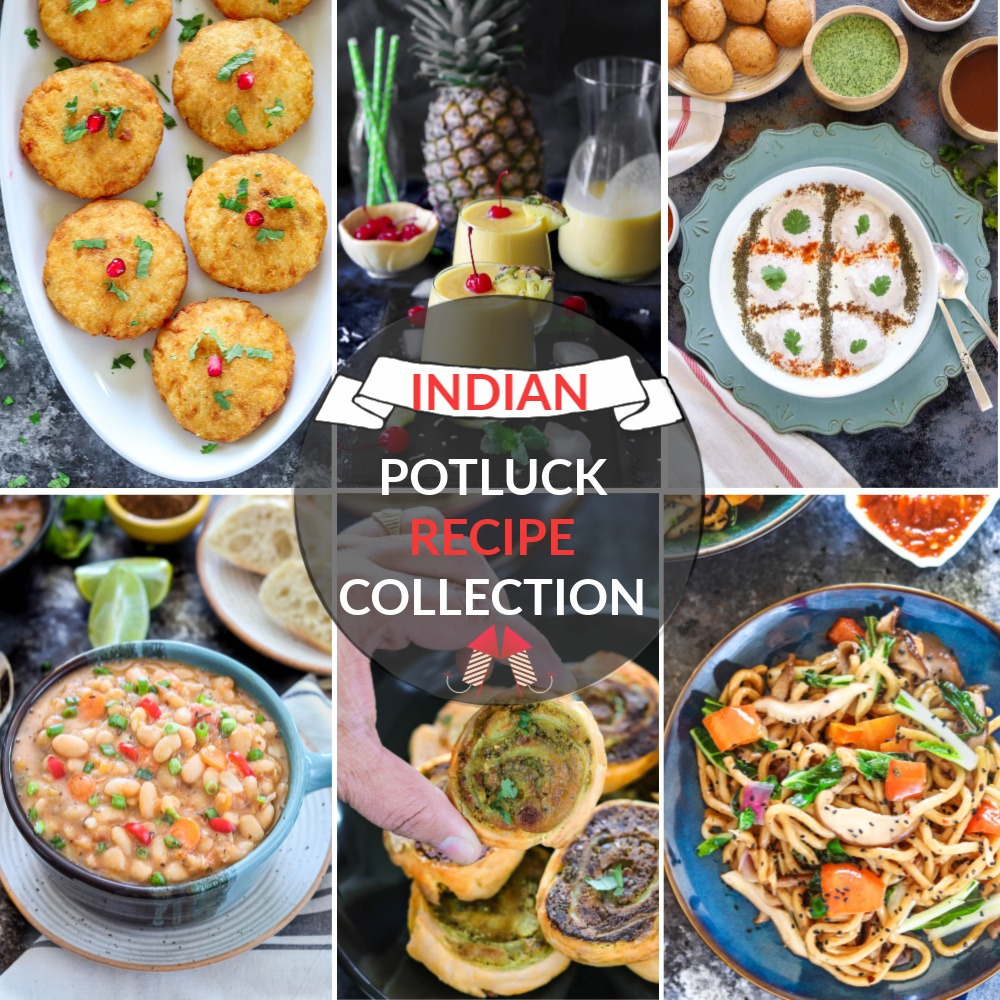 Indian Party Potluck Recipes 100 Of Potluck Recipes For Indian Party