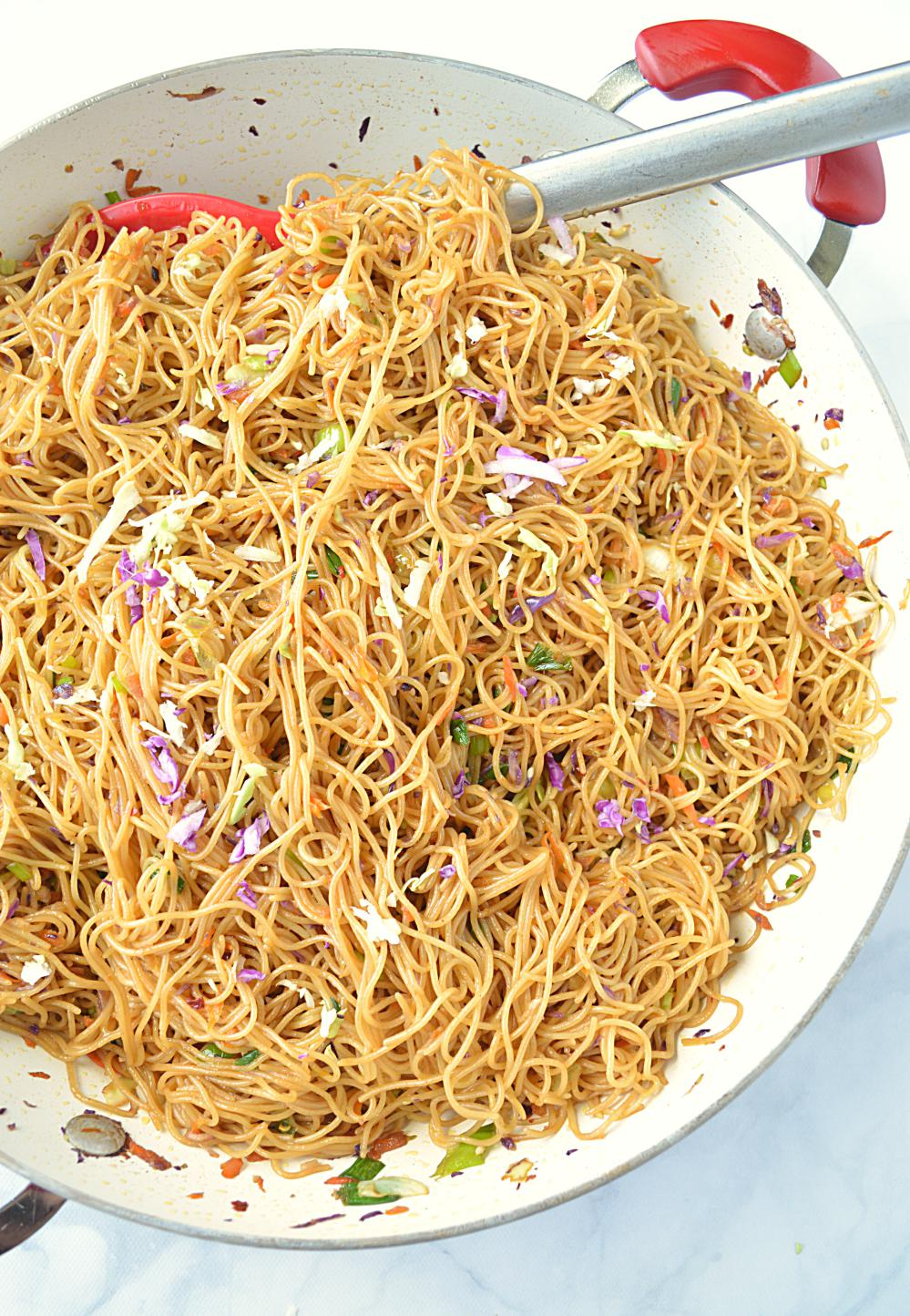 Cantonese Style Veg Noodles picture