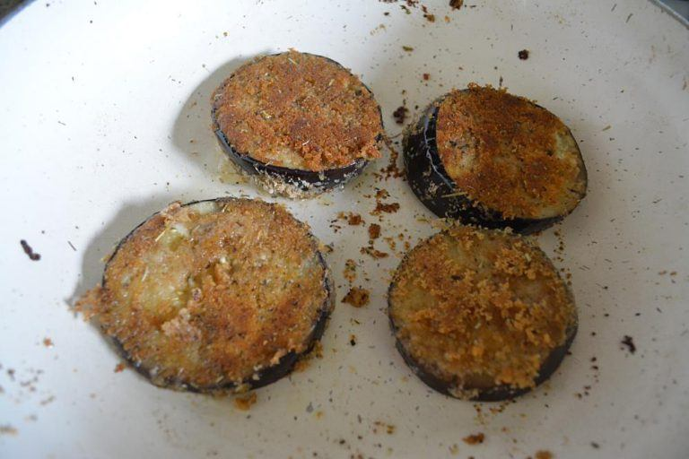 how to cook with cooked.eggplant
