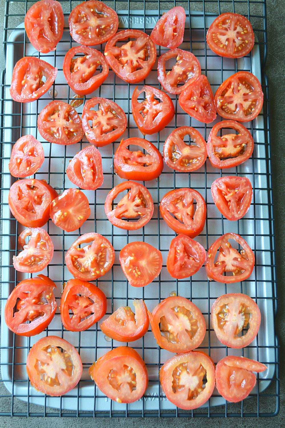 How to make Sun Dried Tomatoes in Oven