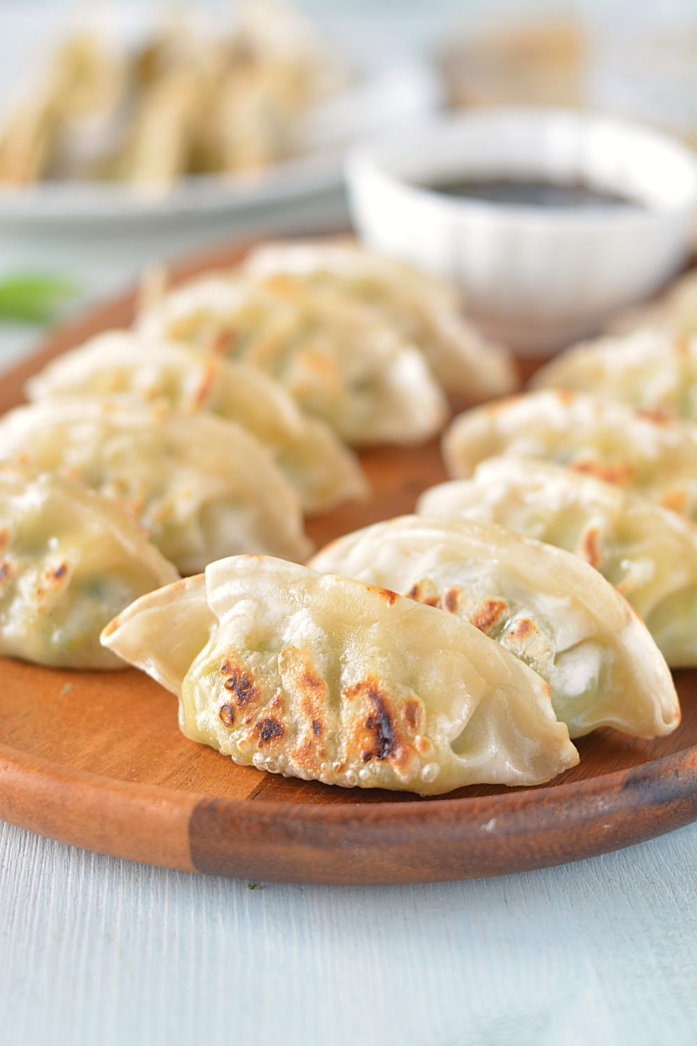 Veggie Potstickers Recipe