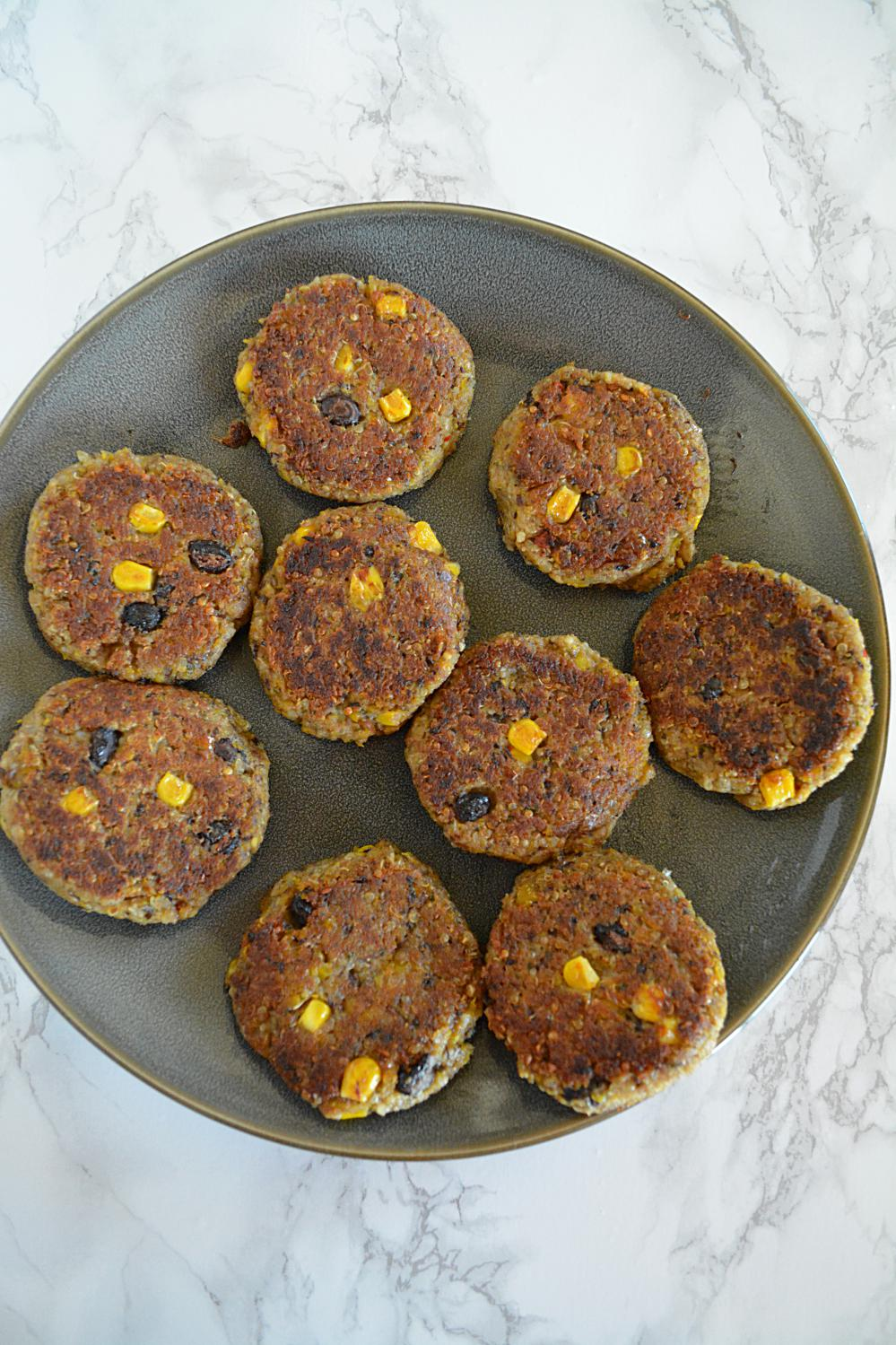 Quinoa and Black Bean Patties, black bean vegan patties ...