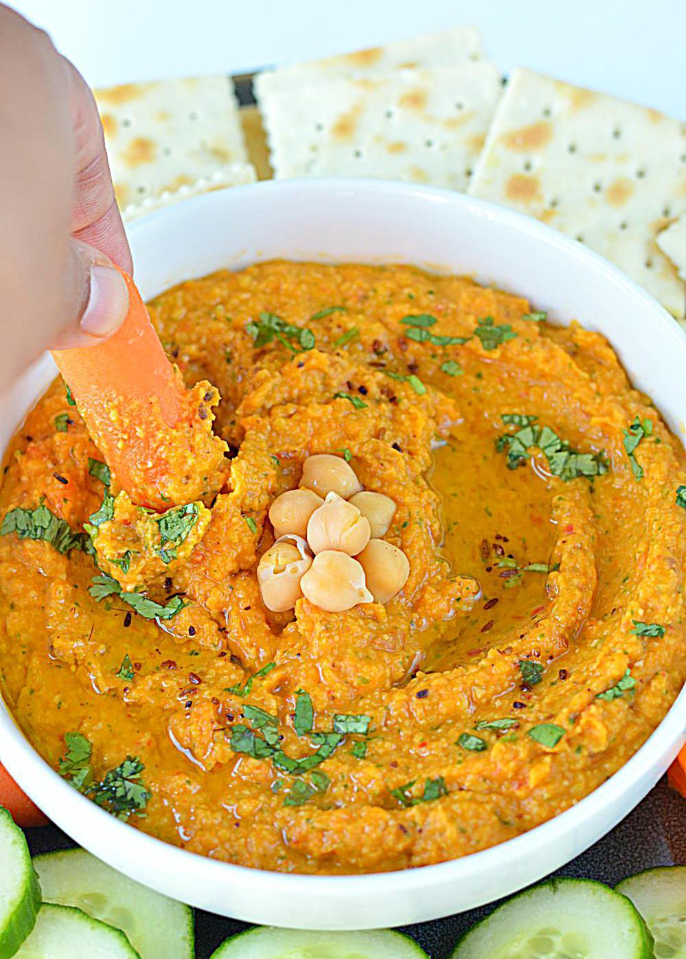 Spicy Chickpea Hummus Recipe