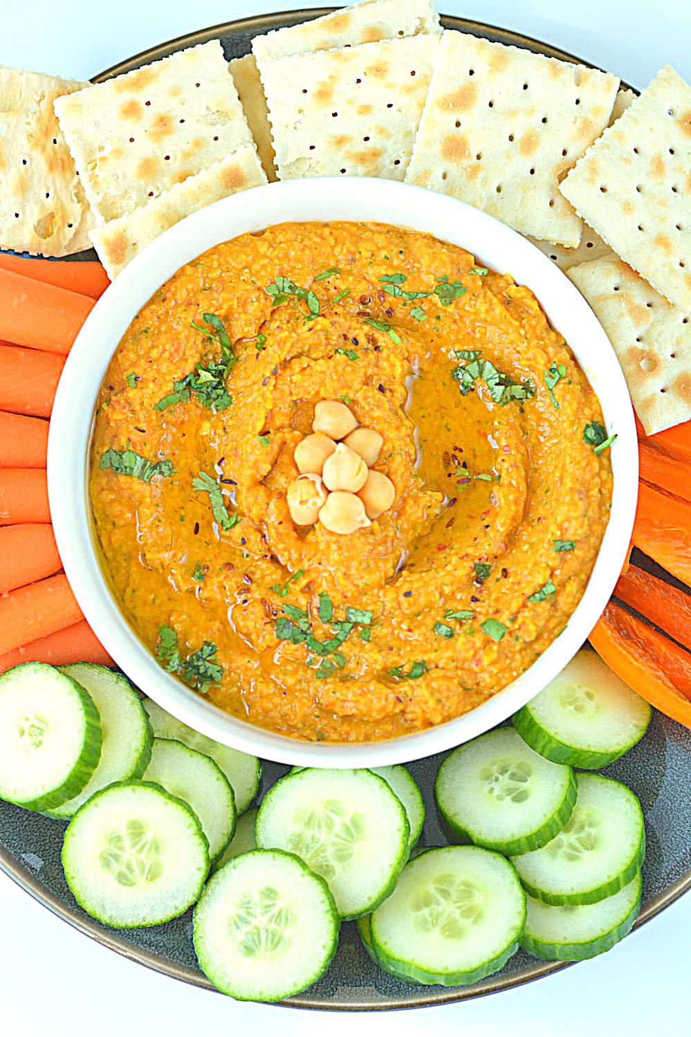 Homemade gluten-free and vegan hummus recipe that will surely be a hit ...