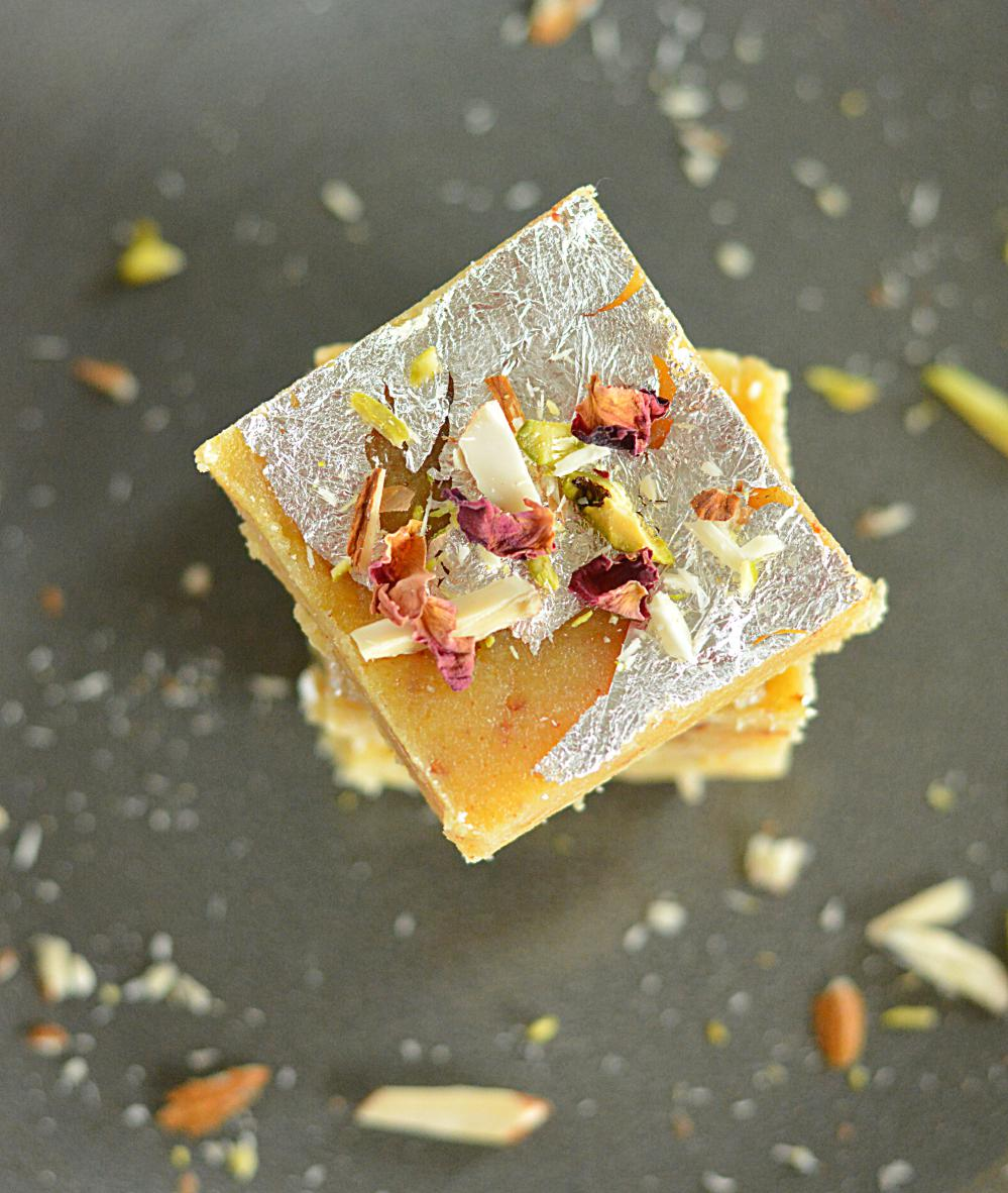 How to make Moong Dal Burfi