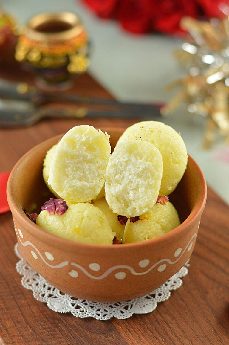 Tested and tried Rasgulla Recipe - Ruchiksitchen