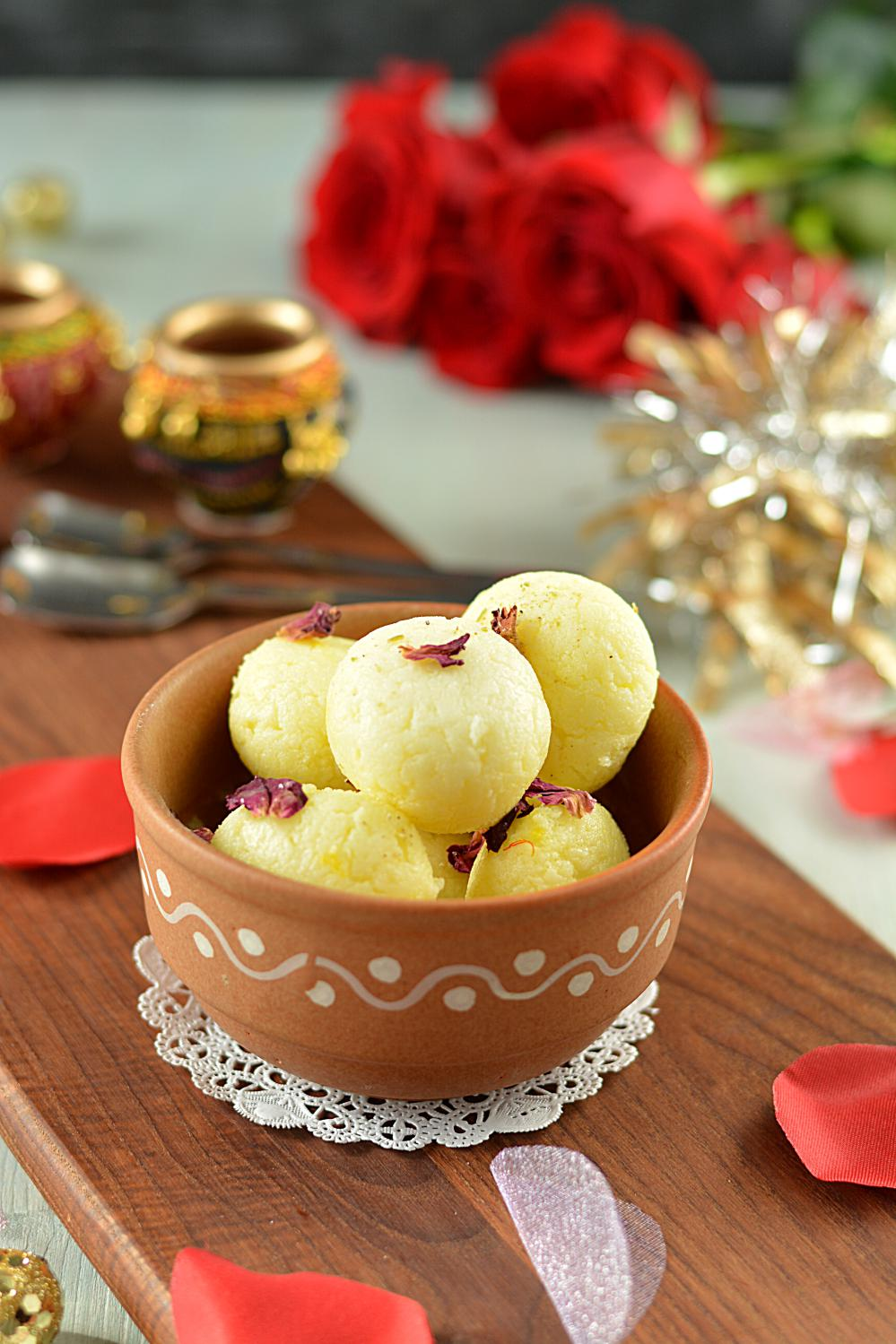 Tested and Tried Rasgulla Recipe - Ruchiskitchen