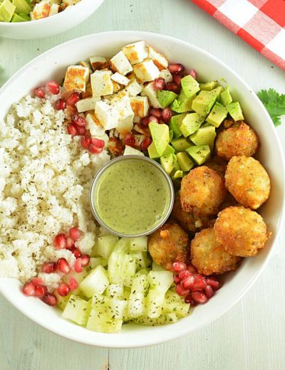 Spicy Millet Salad Bowl