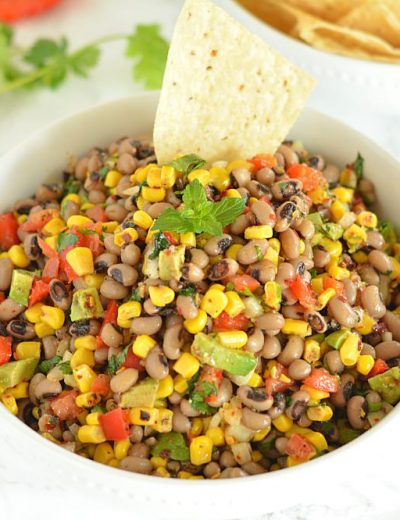 Zesty Black Eyed Pea and Corn Salsa Recipe