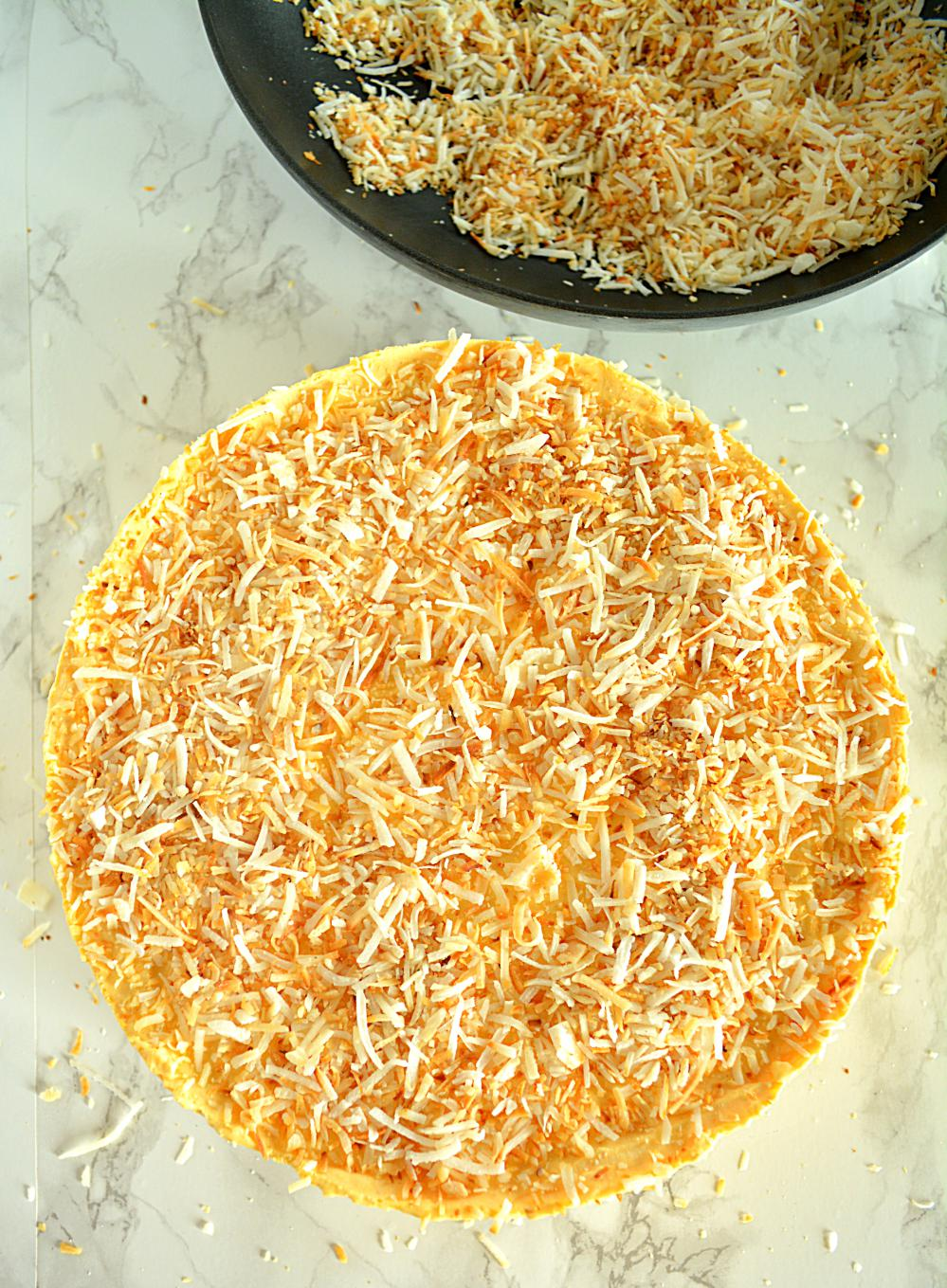 No Bake Coconut Pumpkin Mousse Pie, Coconut Pumpkin Mousse Pie