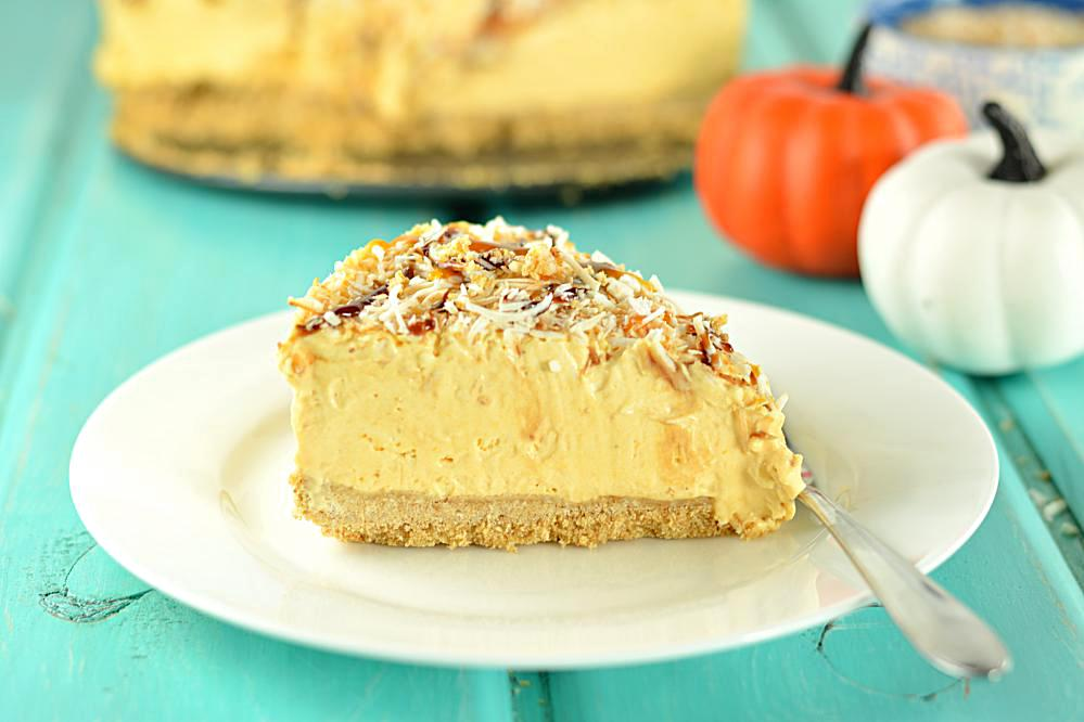 No-Bake Chocolate Pumpkin Mousse Pie Recipe — Dishmaps