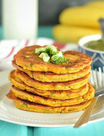 Savory Pumpkin Pancakes