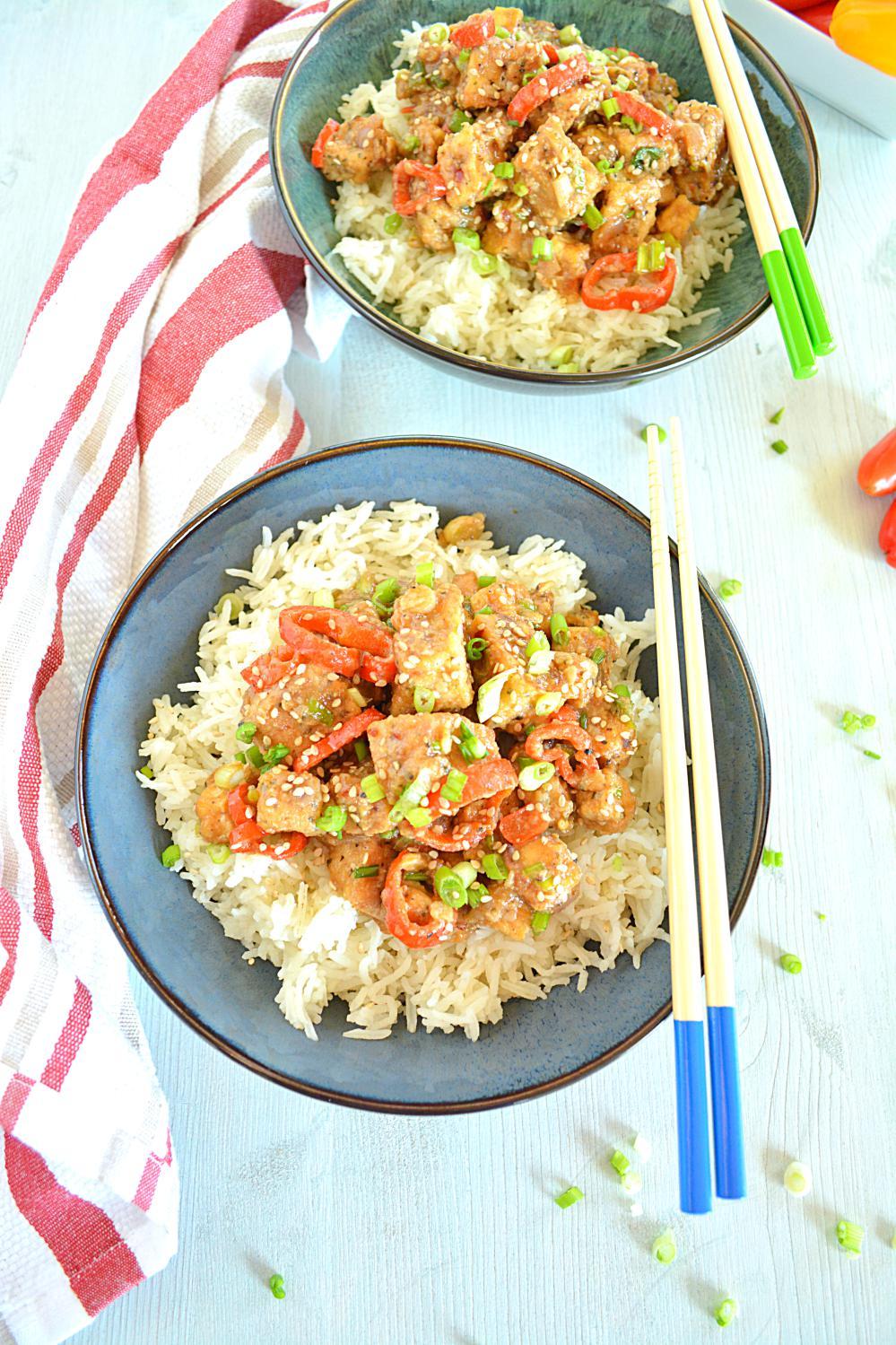 Spicy Stir Fry tofu Recipe