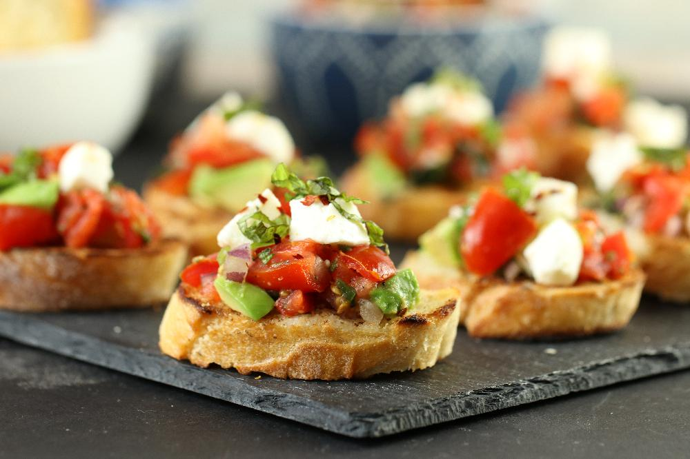 Image Result For How To Make Bruschetta
