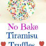Tiramisu Truffles - Ruchiskitchen