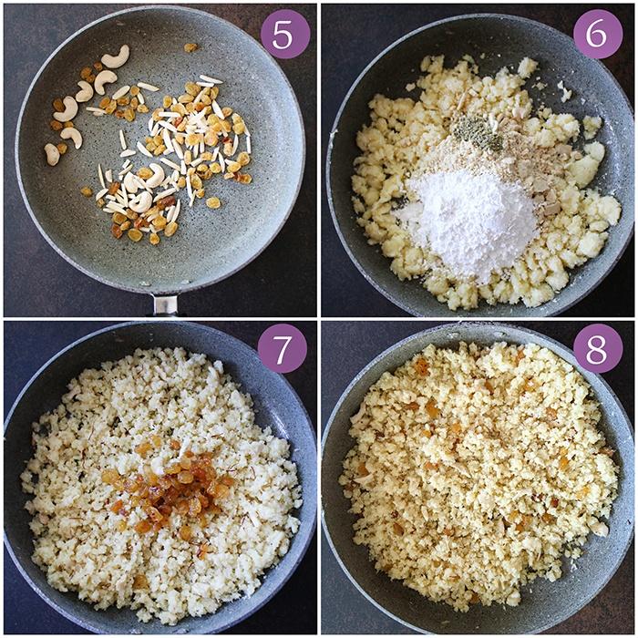 How to make Mawa filling