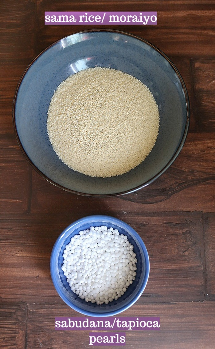 Ingredients for Sabudana Vrat Dosa