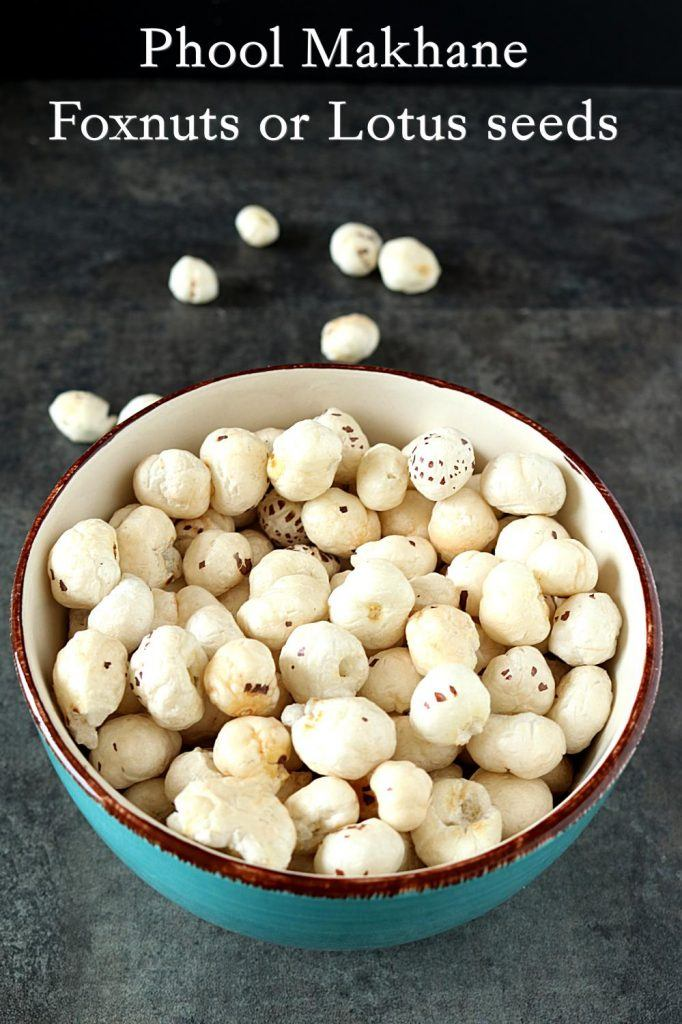 Ingredients required to make Gur Makhane or Jaggery Caramelized Lotus Seeds