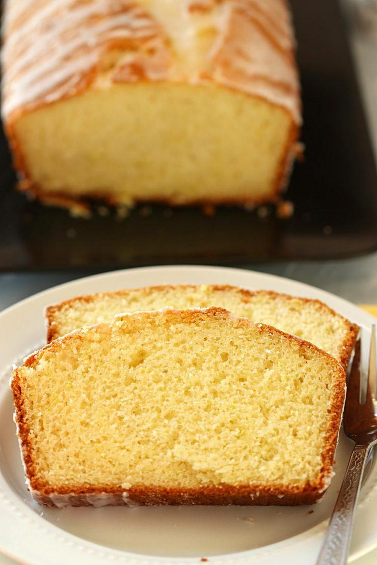 Quick And Easy Lemon Drizzle Cake