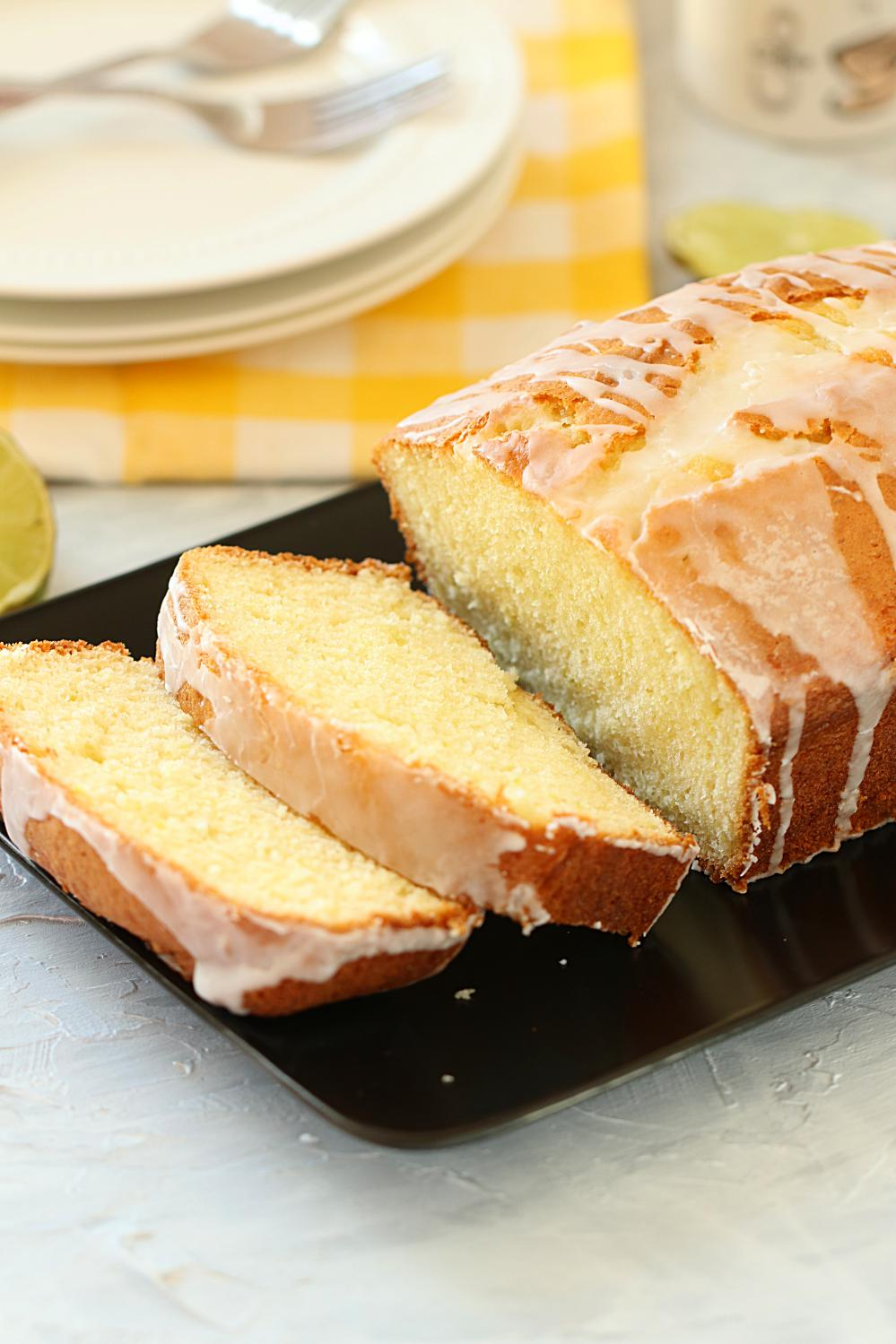 Glazed Lemon Loaf Cake