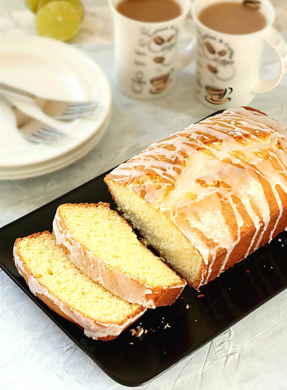 Easy Moist Lemon Pound Cake
