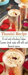Homemade Thandai Recipe - Ruchiskitchen