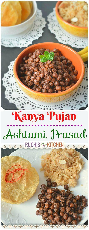 Kala chana - Ashtami Prasad - Ruchiskitchen