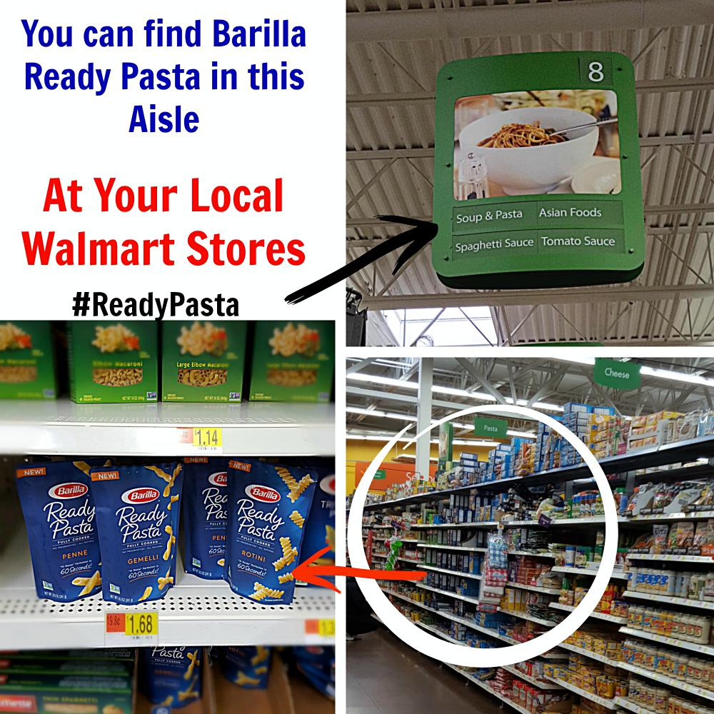 Barilla Ready Pasta at Walmart