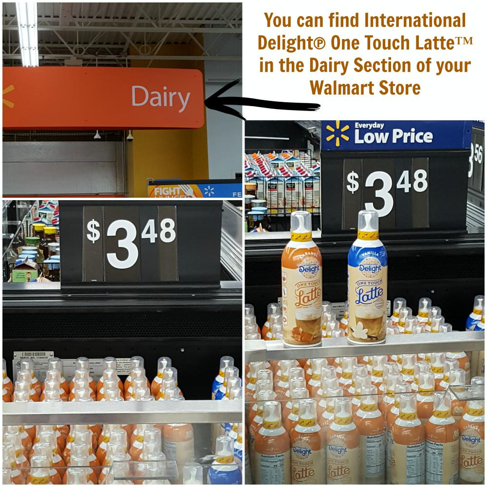 nternational Delight® One Touch Latte™ at Walmart