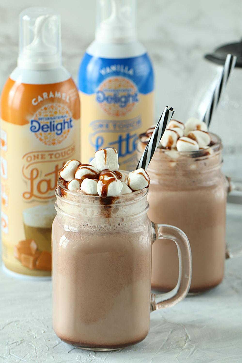 Hot Chocolate Caramel One Touch Latte