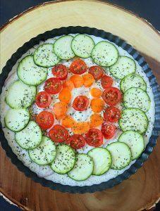 Veggie quiche - Ruchiskitchen
