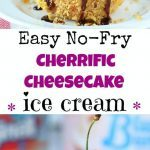 No-Fry Fried Cheesecake Ice Cream - Ruchiskitchen