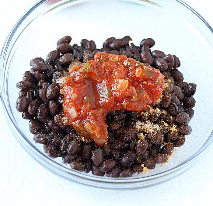 Add salsa